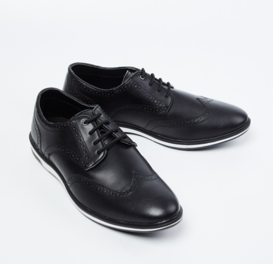 RED TAPE Solid Derby Brogues