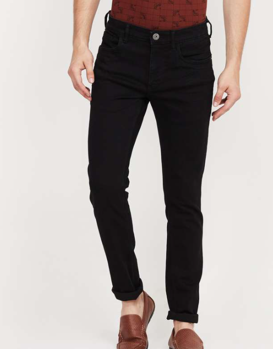FAME FOREVER Solid Skinny Fit Jeans