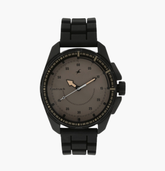 FASTRACK Men Analog Watch with Silicone Strap