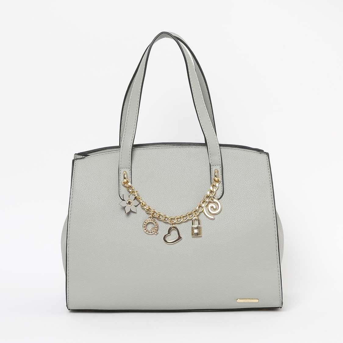 GINGER Embellished Handheld Bag