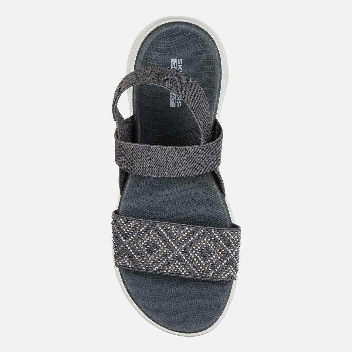 SKECHERS Embellished Slingback Sandals