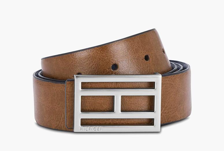 Best Men's Accessories TOMMY-HILFIGER-Men-Genuine-Leather-Textured-Belt1