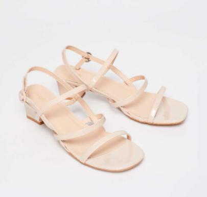 CATWALK Solid Strappy Heels