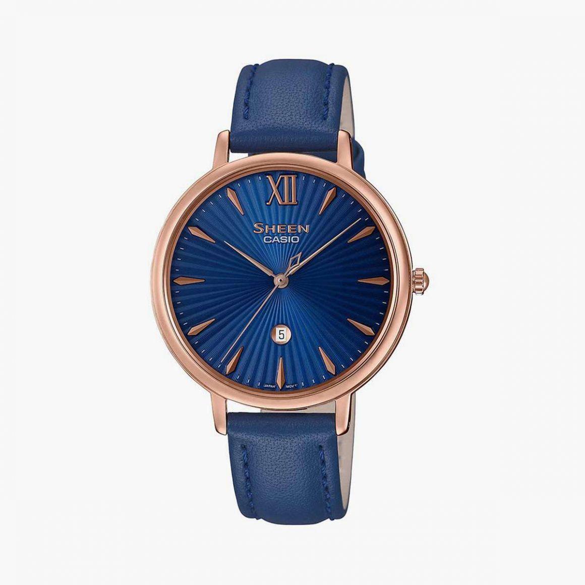 CASIO Sheen Women Analog-Date Wristwatch - SH222