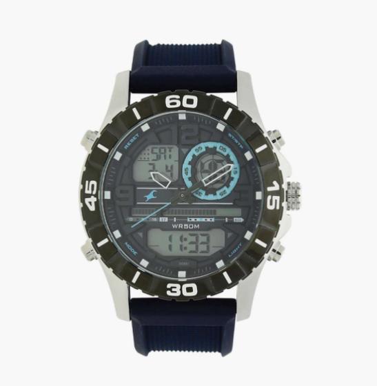 FASTRACK Men Analog-Digital Watch - NL38035SL02
