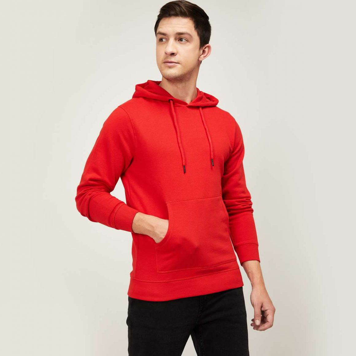 Red Hoody Jacket - Fame Forever by Lifestyle