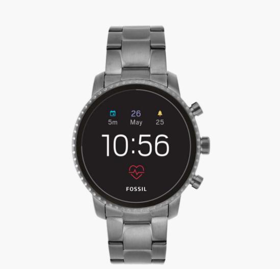 FOSSIL Men Gen 4 Explorist HR Smartwatch