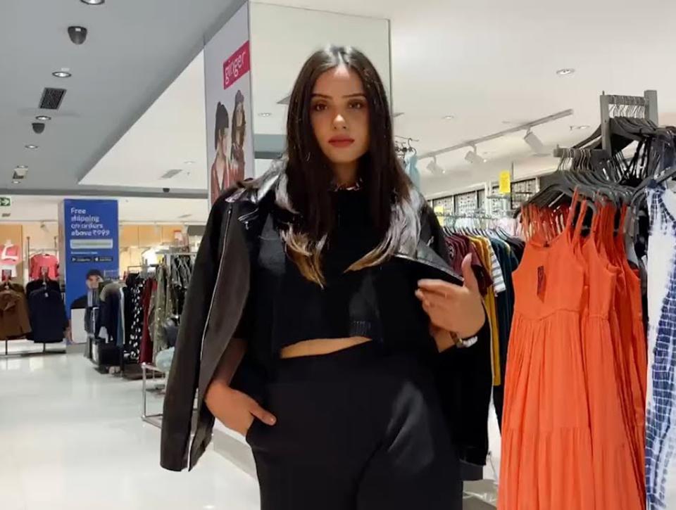 Nikita-pandey-shows-off-Lifestyle's-new-season-looks