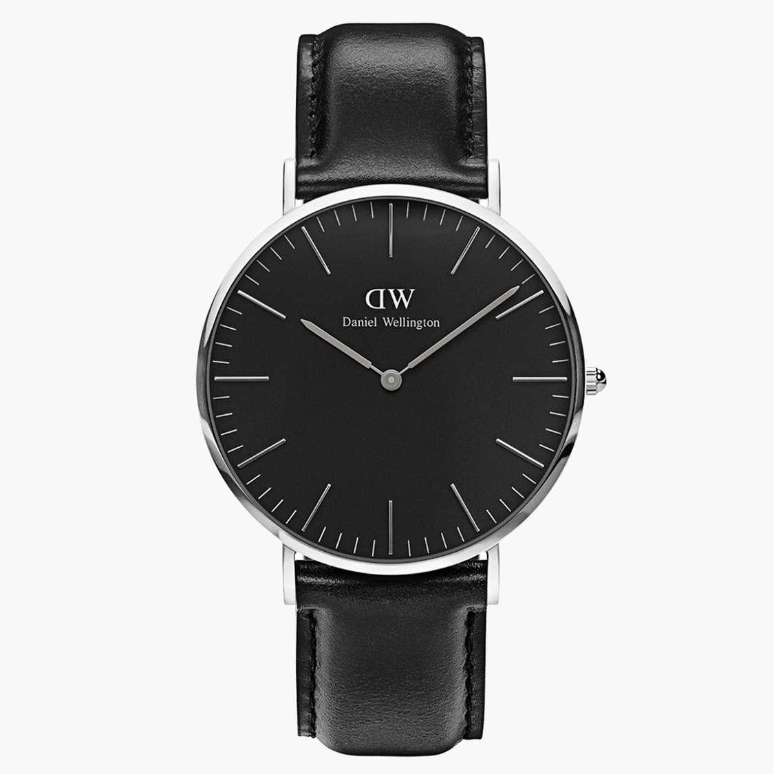 DANIEL WELLINGTON Men Analog Watch with Leather Strap - DW00100133