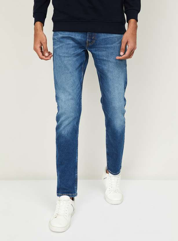 Levi's Men Stonewashed Jeans - types of jeans for men