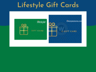 Lifestyle gift cards