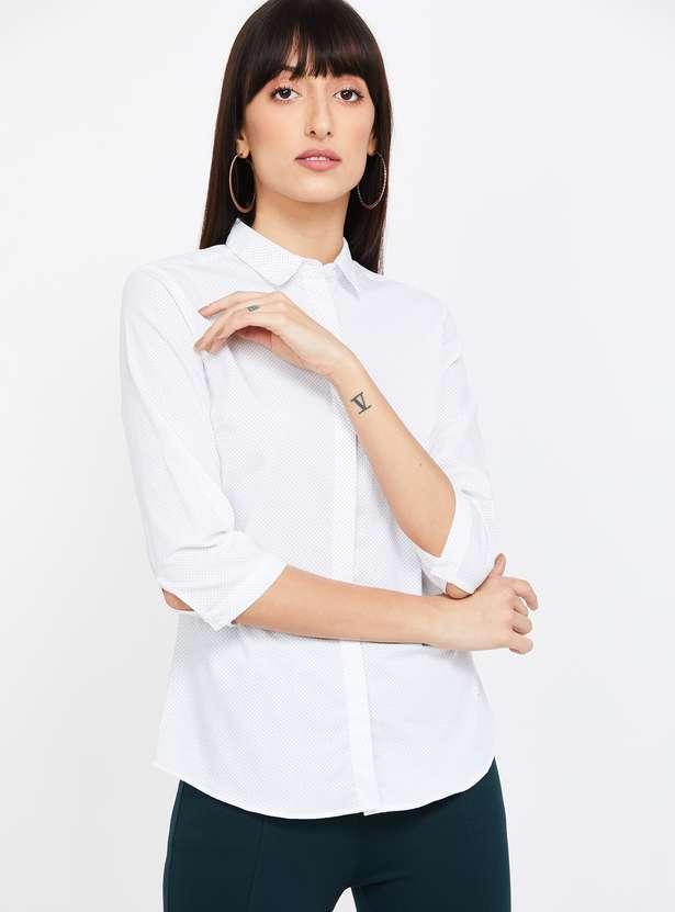VAN HEUSEN Printed Regular Fit Shirt