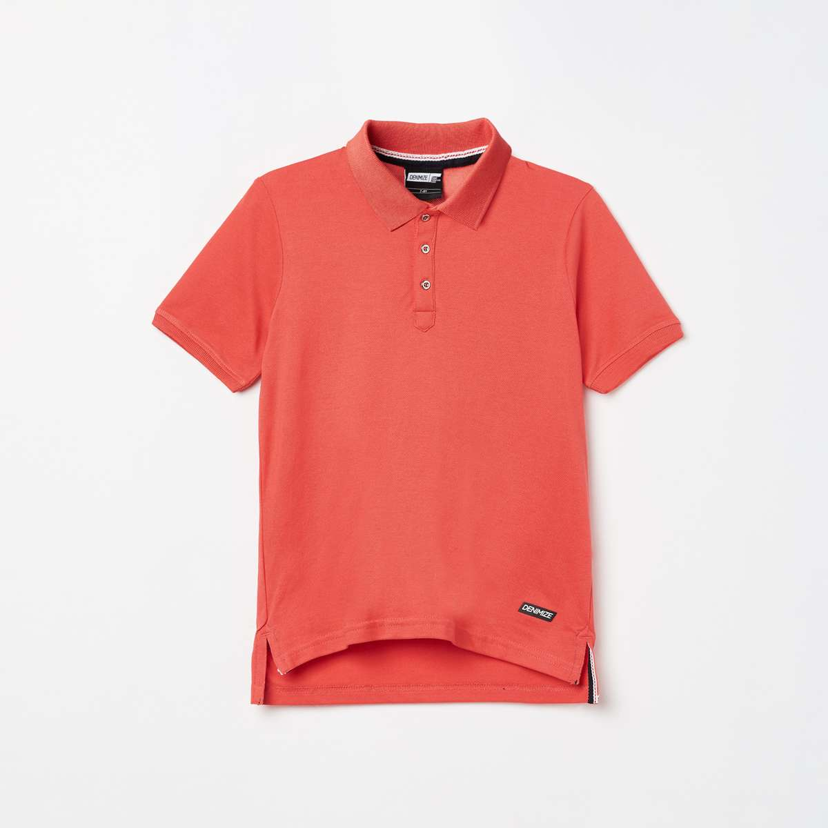 3.DENIMIZE Boys Solid Polo T-shirt