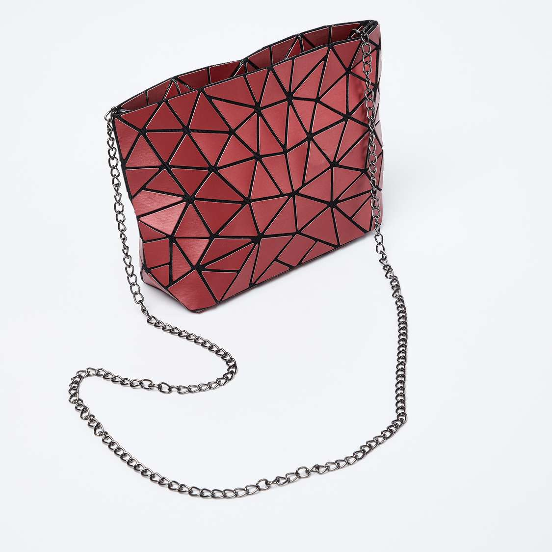 Geometric Pattern Sling Bag