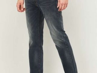 types of Levi's jeans LEVI'S Men Stonewashed Slim Tapered Jeans