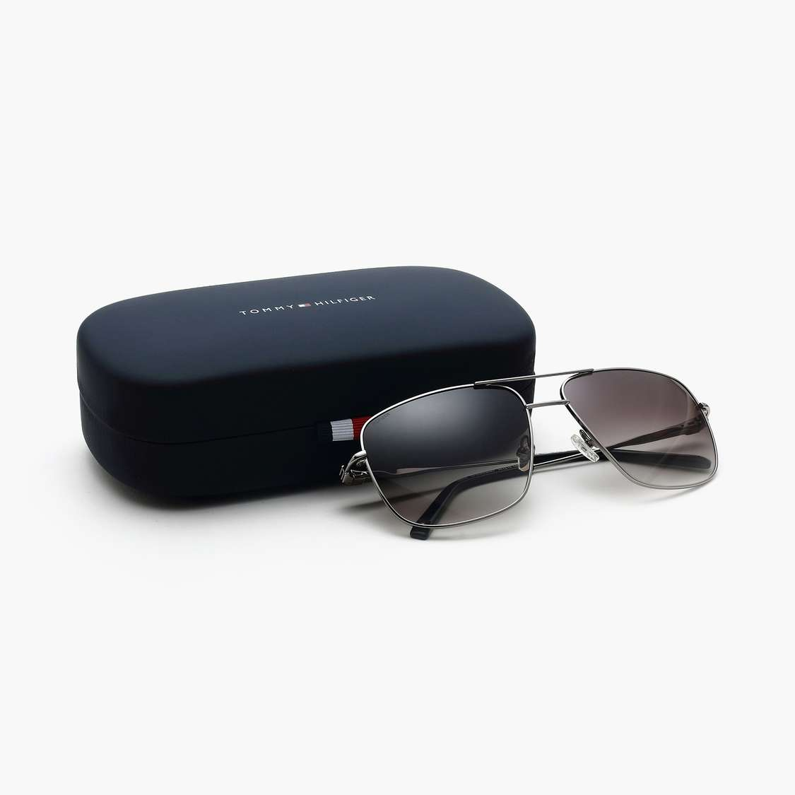 TOMMY HILFIGER Men UV-Protected Gradient Square Sunglasses - TH9730GLD