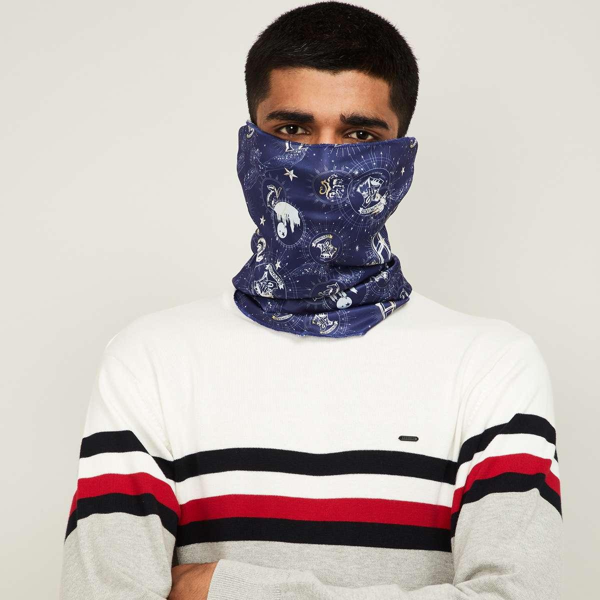 4.FREE AUTHORITY Men Printed Bandana Face Mask