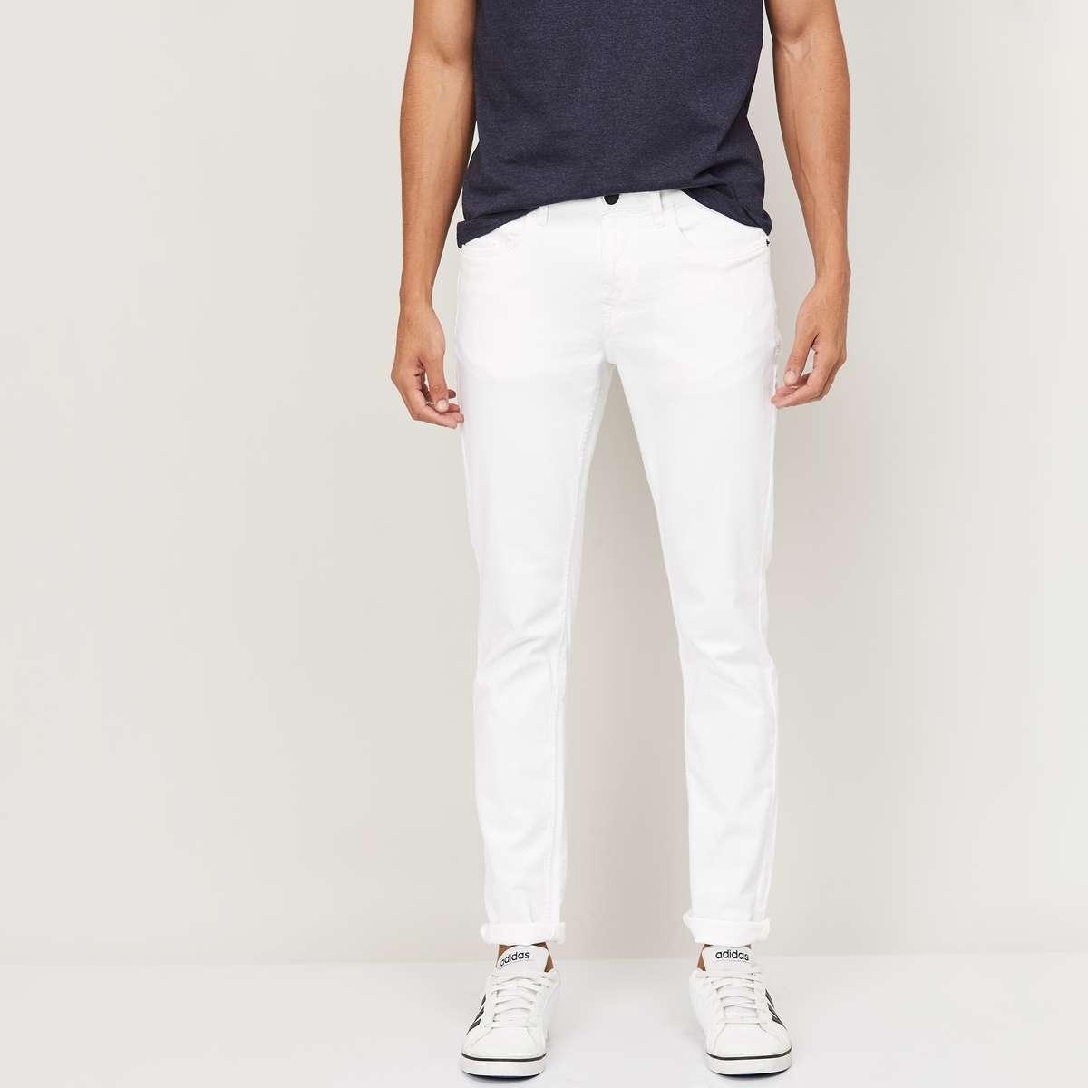 8.DENIMIZE Men Solid Skinny Fit Jeans