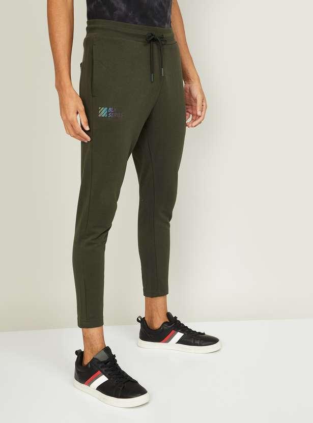BOSSINI Men Solid Track Pants