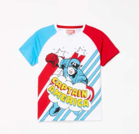 Clothing Brand for Kids - FAME FOREVER KIDS Boys Printed Crew Neck T-shirt