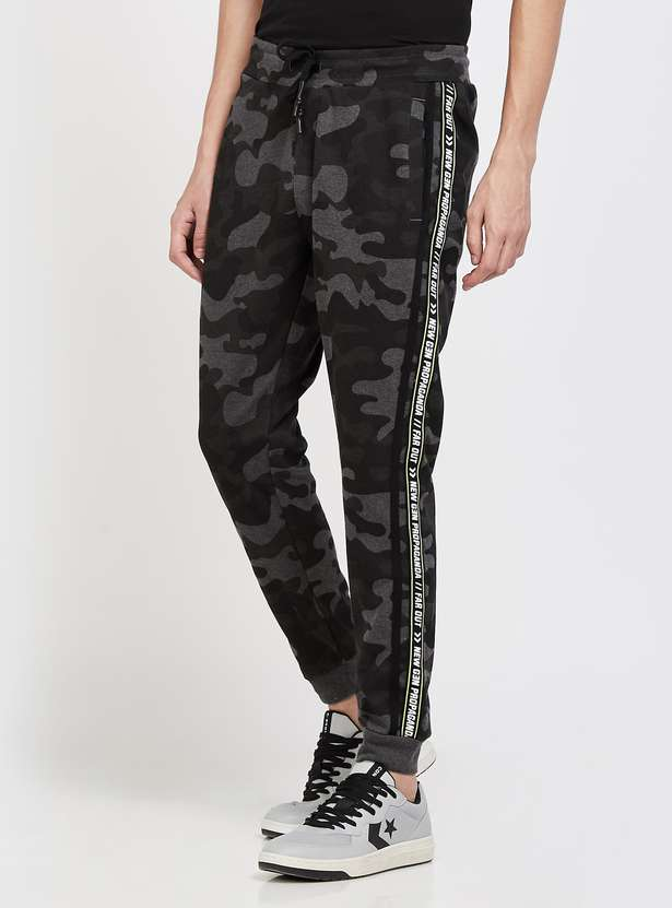 FORCA Camouflage Printed Regular Fit Joggers