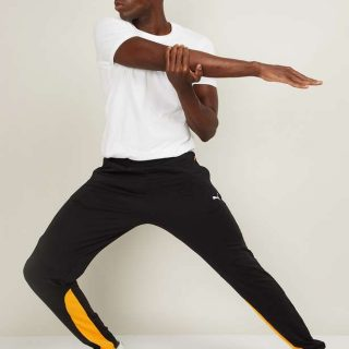 PUMA Men Printed Elasticated Track Pants
