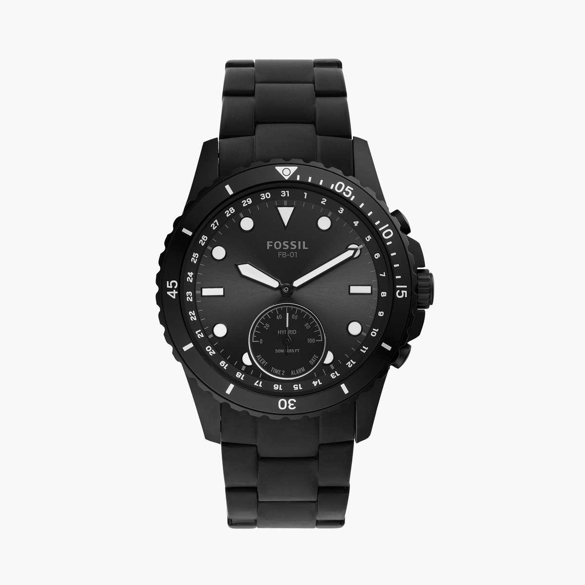 4.FOSSIL Men Hybrid FB-01 Touch Smartwatch- FTW1196
