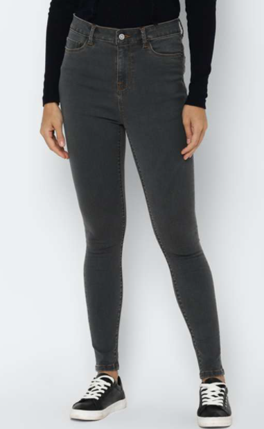 ALLEN SOLLY Women Solid Slim Fit Jeans - Top jeans brands in India