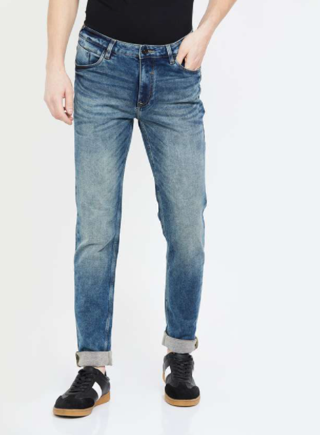 BLACKBERRYS URBAN Stonewashed Skinny Fit Jeans - Top jeans brands in india