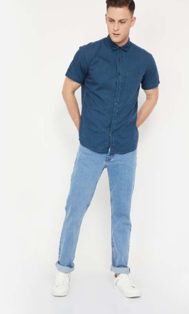 LEVI'S 511 Stonewashed Slim Fit Jeans - Types of jeans for men