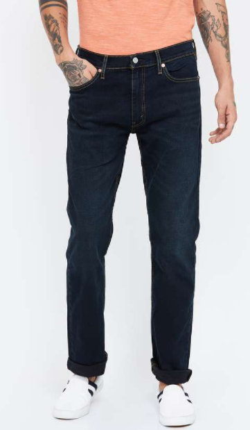 LEVI's Stonewashed Regular Fit Jeans - Types of levi's jeans