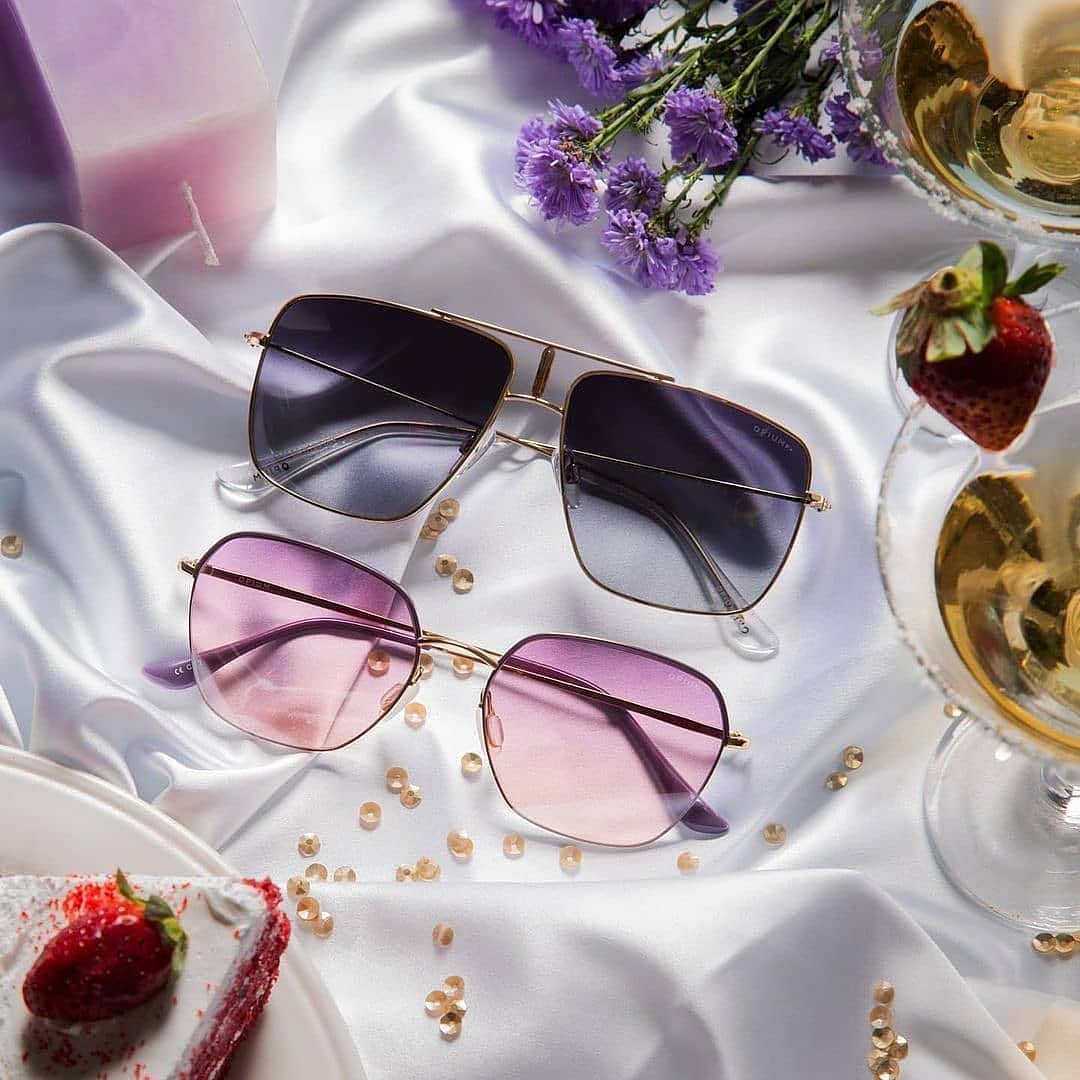 UV-protected sunglasses from OPIUM