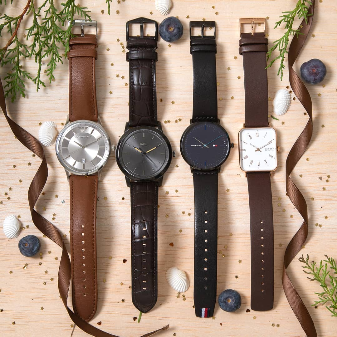 classy leather watches