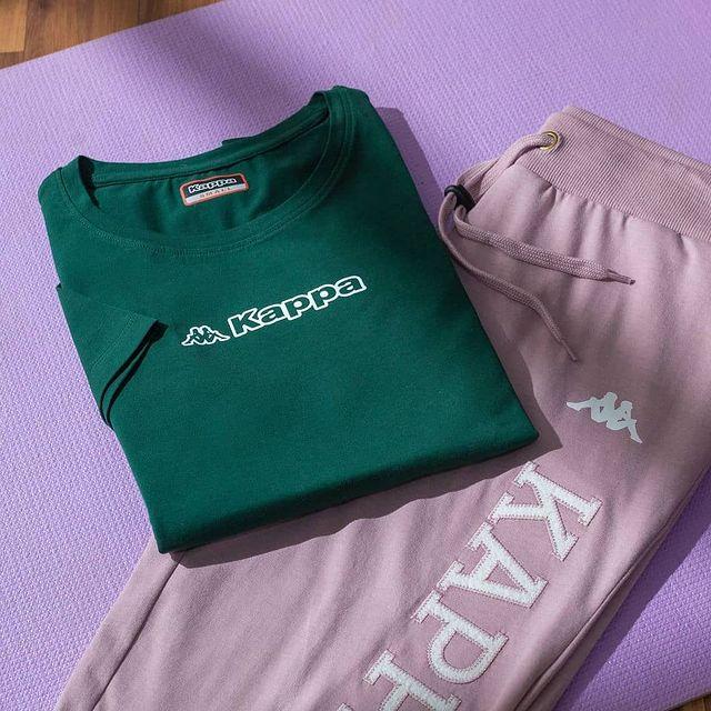 printed waistline joggers
