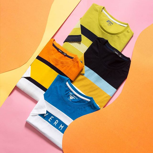 vibrant and comfy t-shirts