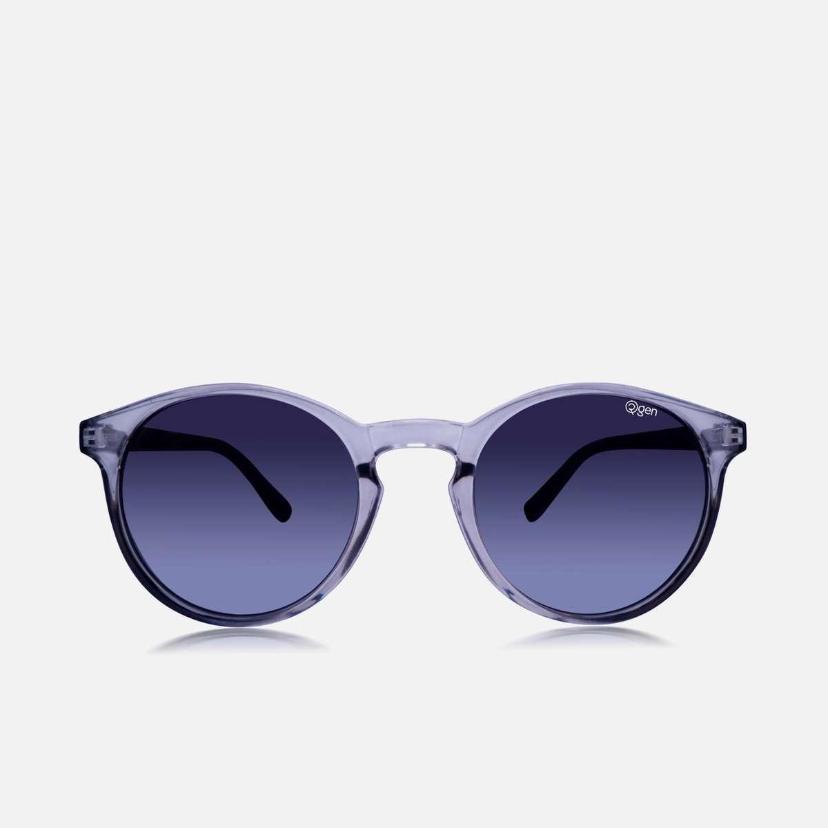 1.O2GEN Women Solid Round Sunglasses - O2-21-012-C4