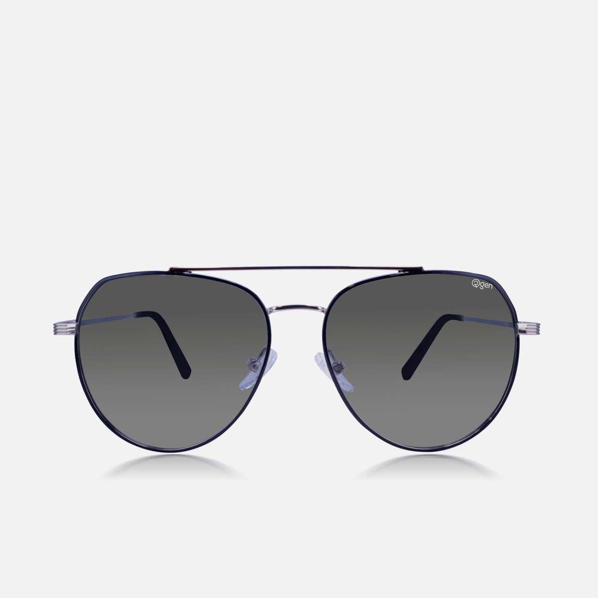 2.O2GEN Men Polarized Aviator Sunglasses- O2-21-003-C4-P