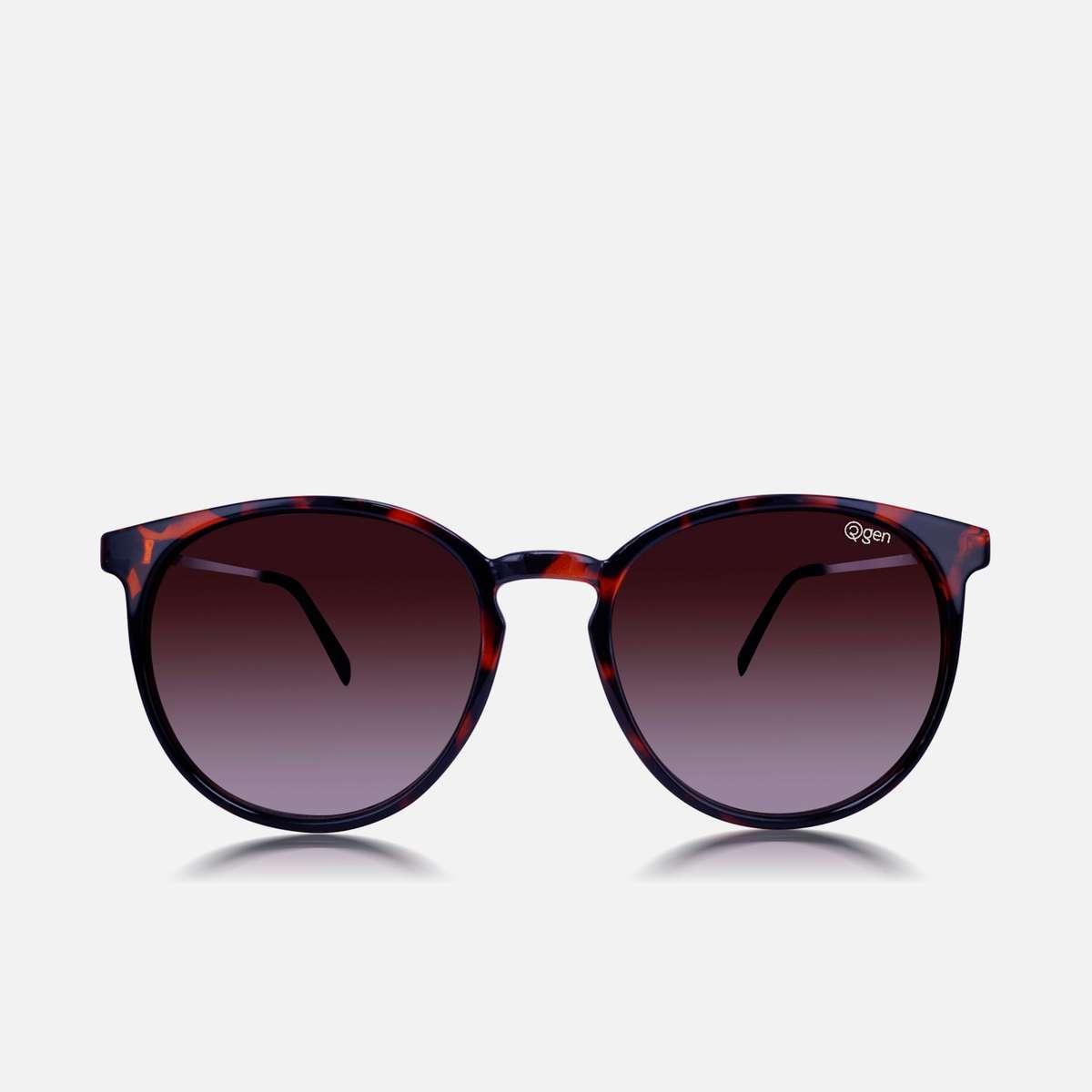2.O2GEN Women Printed Round Sunglasses - O2-21-018-C1