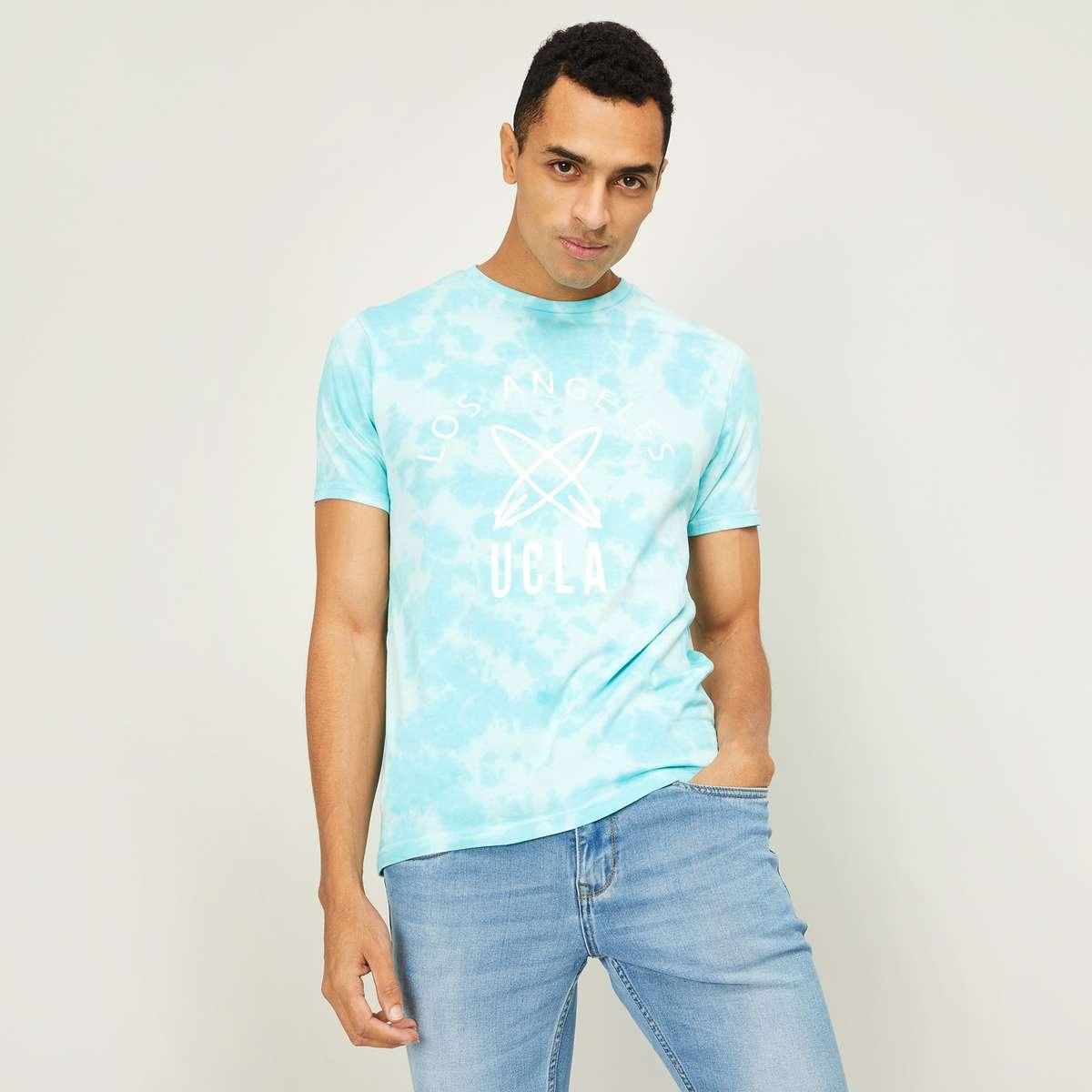 4.UCLA Men Printed Crew Neck T-Shirt