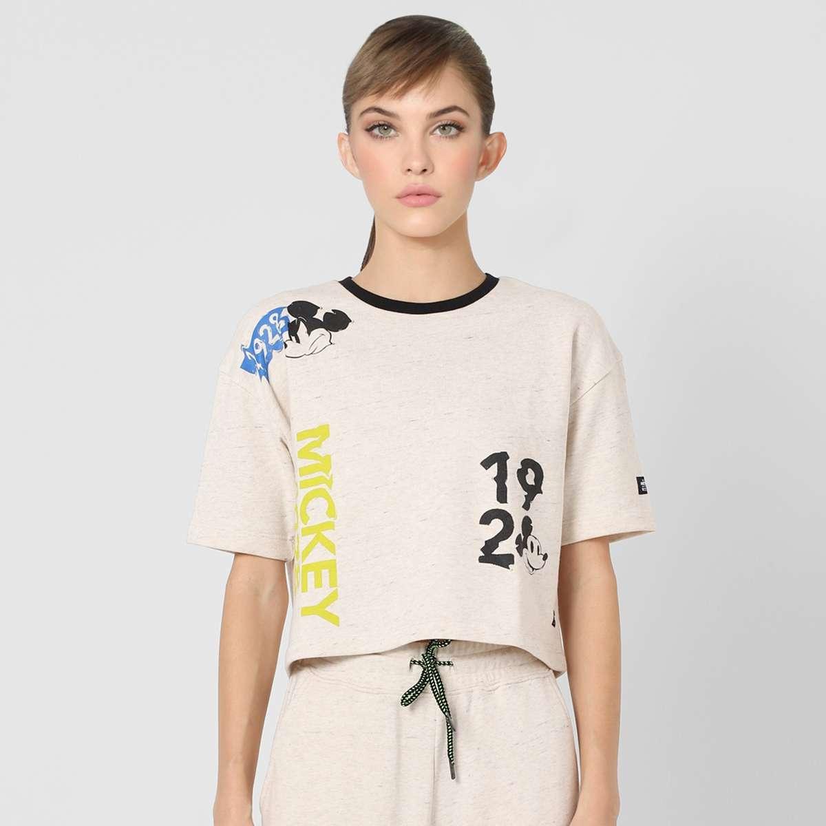 5.ONLY Women Boyfriend Fit Printed T-shirt