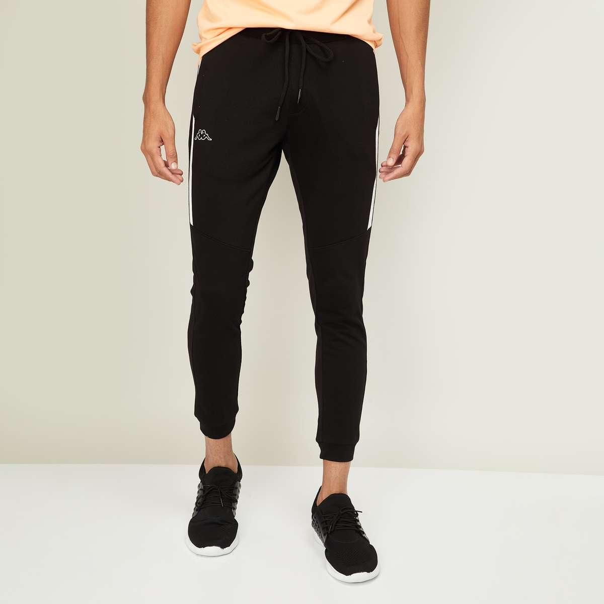 9.KAPPA Men Solid Slim Fit Elasticated Joggers
