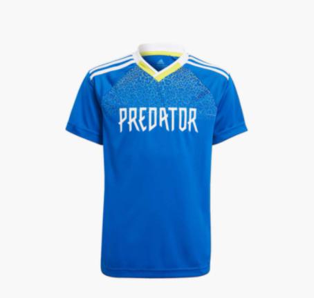ADIDAS Boys Printed V-Neck T-shirt - types of Kidswear
