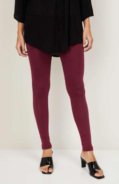 DE MOZA Women Solid Leggings - types of bottom wear for women