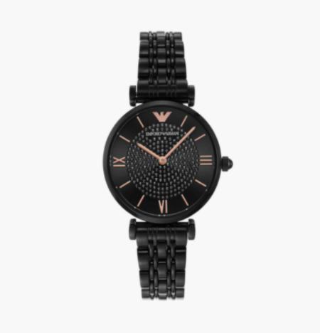 EMPORIO ARMANI Gianni T-Bar Women Analog Watch - AR11245I - top 10 women's watches