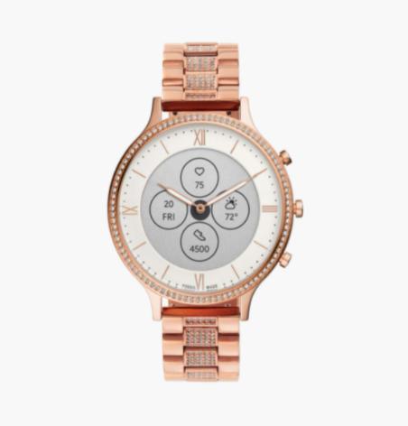 FOSSIL Women Hybrid HR Charter Smartwatch - FTW7012 - top 10 women's watches