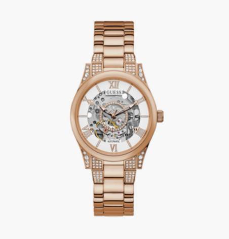 GUESS Women Embellished Analog Watch- GW0115L3 - top 10 women's watches