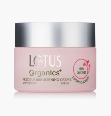 LOTUS Organics Precious Brightening Night Creme SPF 20