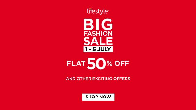 Lifestyle Stores' Big Fashion Sale
