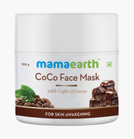 MAMAEARTH Coco Face Mask
