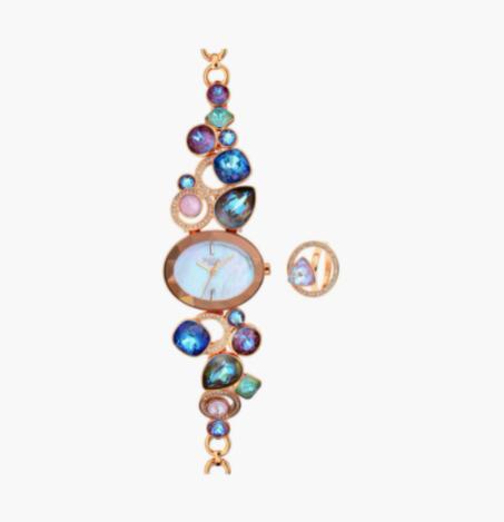 TITAN Raga Women Embellished Analog Watch - 95126WM01F - top 10 women's watches